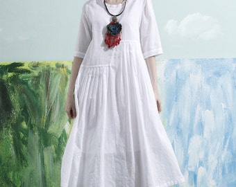 White Linen Shirt Etsy