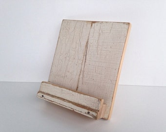 iPad Stand Handmade with Reclaimed Wood