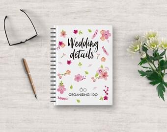Wedding Planner, Wedding Planner Book, Wedding Guest Book