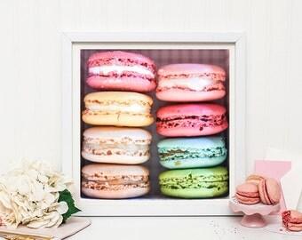 Macaron photography print -  Macaron print - Paris decor