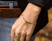 Initial Bracelet, Letter Bracelet, Gold Initial Bracelet, Personalized Bracelet, Bridesmaid Bracelets, Gemstone Bracelet, Birthstone