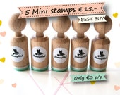 Choose 5 stamps out of the more than 200 different designs