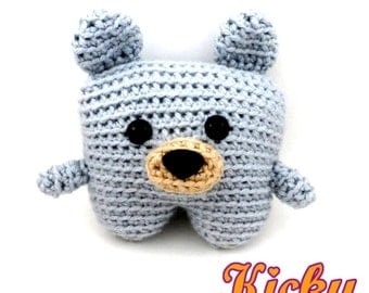 Tiny Teddy Crochet Pattern