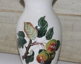 Portmeirion Pomona Vase - Teinton Squash Pear & Grimwood's Royal George Peach- Vintage - Collectibles - Home Decor - England  Pottery- China