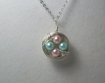 Birds Nest Necklace - Thick Design