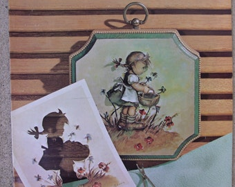 Vintage Craft Book, Picture Sculpture, 3-D Craft