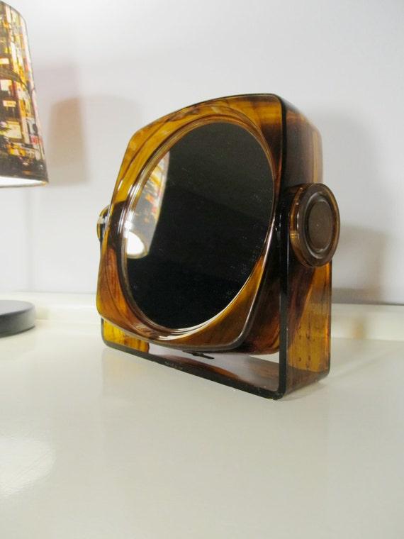 christmas gift sale vintage vanity magnifying by lalanterne. Black Bedroom Furniture Sets. Home Design Ideas