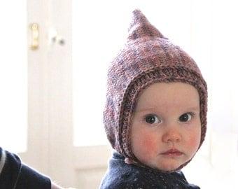 Classic Knit Baby Bonnet