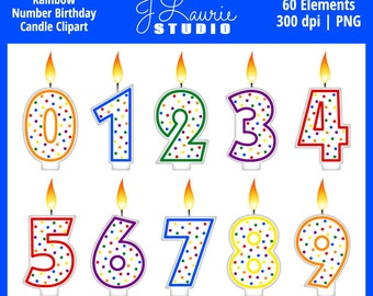 One Birthday Candle Clipart Candle clipart ...