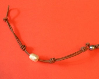 "Free Shipping! 7.5"" Freshwater Pearl Bracelet"