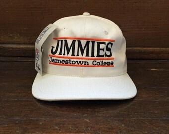 vintage jamestown college snapback the game adult OSFA
