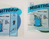 Set of 2 NEW! Vintage Mighty Grip Jar Gripper Jar Opener Tool