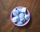 A Grade Large Blue Lace Agate Tumbled Gemstone Pocket Stone Meditation Energy Healing Reiki Craft Crystal Gridding Supply Calming Crystal