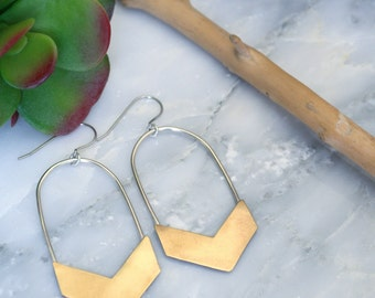 Chevron Earrings - Chevron Jewelry