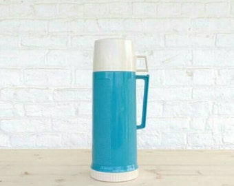Turquoise Blue Thermos