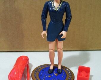 Vintage Star Trek Deep Space Nine Vash Action Figure, Complete, 1995 Playmates