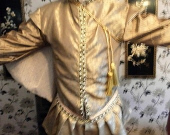 Custom made mens Tudor style tunic prince stage party theatre custom made to your own measurements