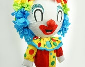 Puppet Pinata Inspired By Our Families Classical 90's Pinatas | Old School 90's Clown | Circus Decor