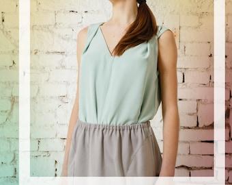 Skirt Easy Going grey