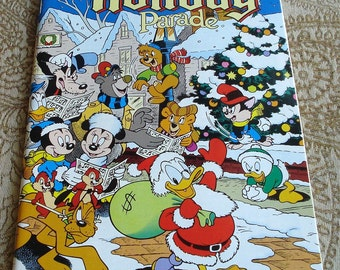 Walt Disney's Holiday Parade Number 1, 1990, Comic Book  Near Mint Condition