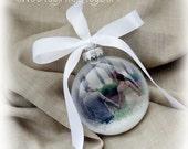 Custom photo ornament, Picture Christmas Ornament, photo bauble, First Married Christmas, First Christmas, personalized picture ornaments