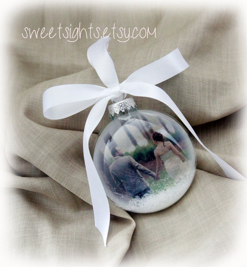 Custom photo ornament Picture Christmas Ornament photo