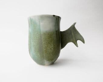 Dragon Mug, Ceramic Mug, Ceramics and Pottery, Porcelain Mug