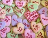 Heart Sugar Cookies per Dozen