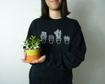 Succulent Cactus Sweatshirt