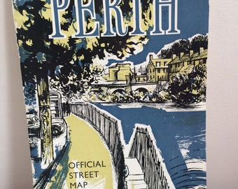 Perth Official Street Map