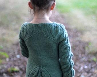 Knitting Pattern - BELEAF ME (Child Sizes from 1 to 14 yo) - English & Russian