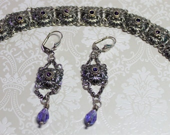 Regency Tanzanite Bracelet Set