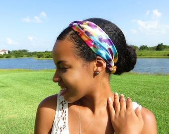 Multicolored Multi-wear Head Band