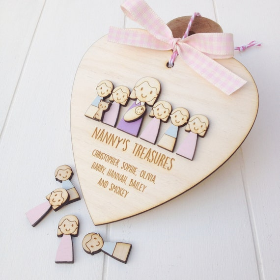 Nanny Keepsake - Mother's day - Grandparent gift - Grandma gift