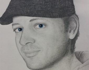 commission pencil sketch