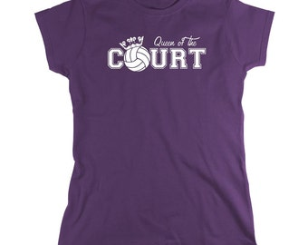Queen of the Court shirt, sports, volleyball, gym - ID: 117