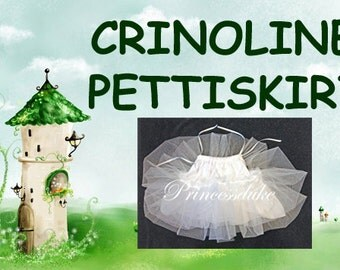 Girls Crinoline Pettiskirt