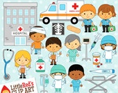 Hospital Clipart and Lineart - personal and commercial use