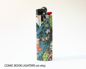Captain America Comic Book Lighter