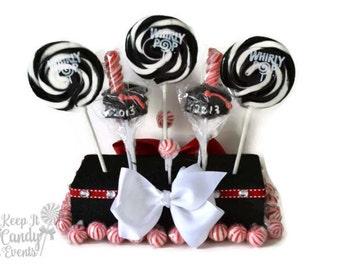 Customizable Graduation Lollipop Centerpiece, Graduation Centerpiece, Grad Lollipop Centerpiece, Grad Candy, Graduation Candy Decoration