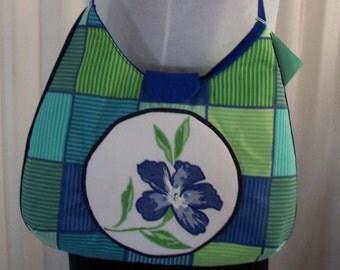 Blue Iris Bag