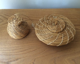 Set of 2 Small Baskets