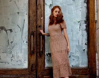"""Knitted dress """"Ginger"""""""