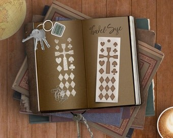 Well Suited Bookmark Stencil -- For Quick Marks In Journals, Planners & Scrapbooks While Your Mind's On The Move