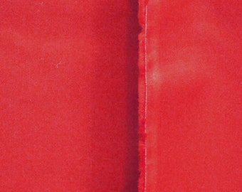 1 YARD, Primary Red, Christmas Quilting Solid, Cotton Fabric, B35