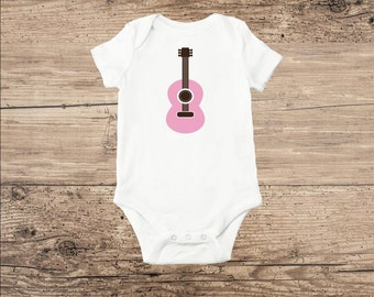 Guitar Baby Clothes, Baby Guitar Toddler T Shirt