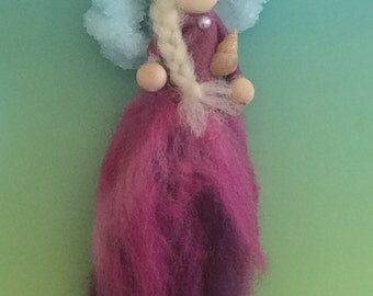 Wool Fairy, Seashell Queen, Waldorf inspired
