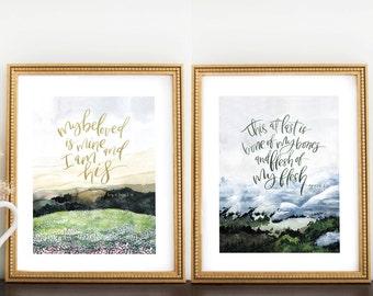 Marriage Print Set (2)
