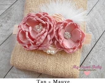 Newborn Headband Stretch Wrap is a perfect Photo Prop, Stretch Knit wrap, Newborn Wrap, Stretch Wrap, Stretchy wrap, Photography prop