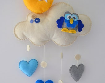 Handmade decorative cloud